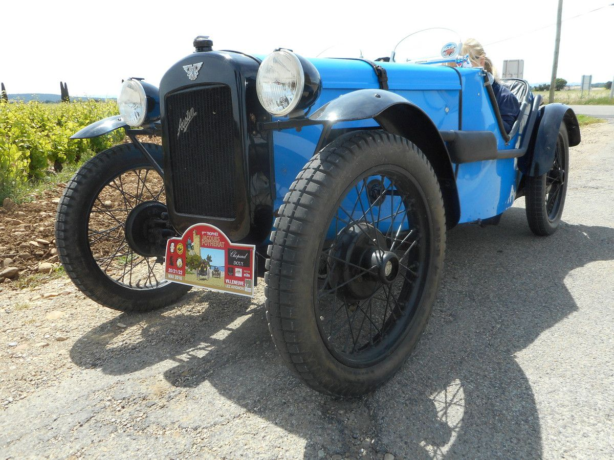 Recensement FRANCE - Austin 7 – Rosengart LR2 – BMW Dixi