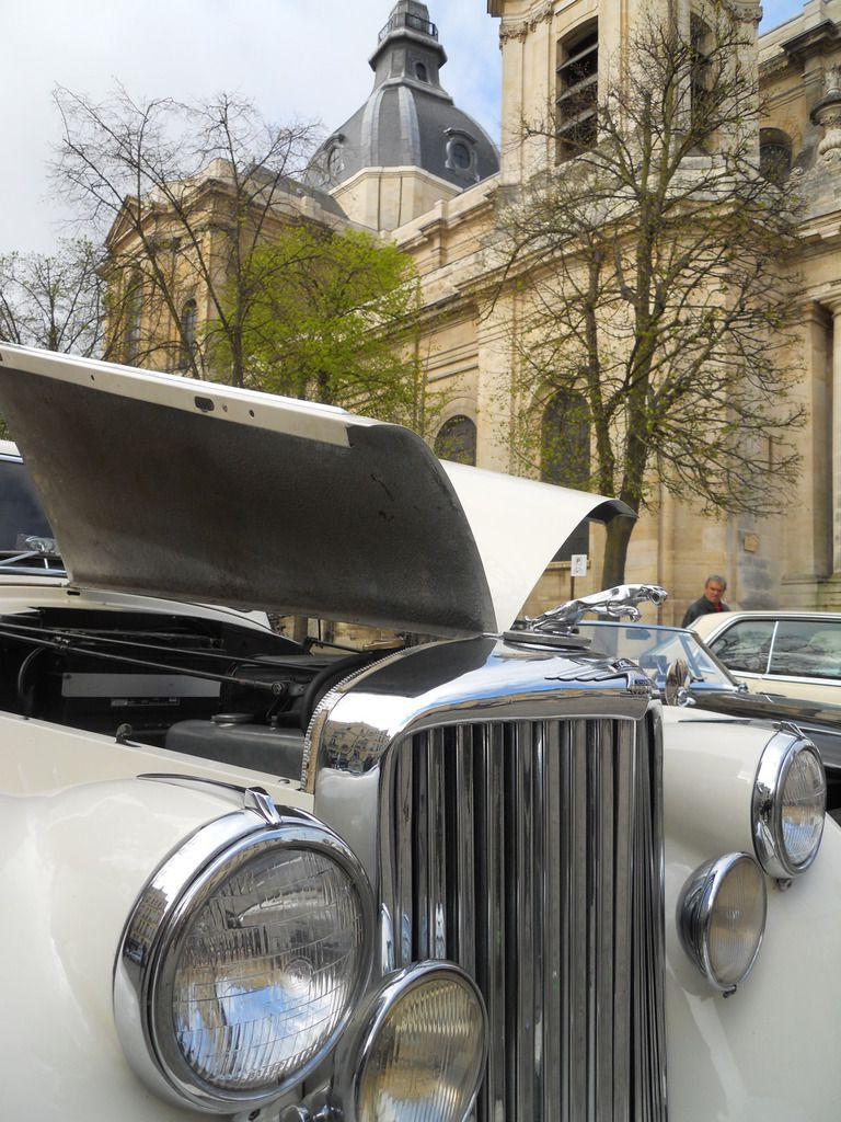 Dimanche 6 NOVEMBRE 2016 à Versailles, automobiles anciennes pour le rassemblement mensuel