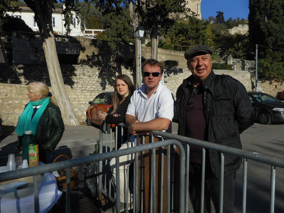 2 Présidents heureux - Claude Broquier à droite pour le Vaucluse, Romain Boireau à gauche pour le Gard