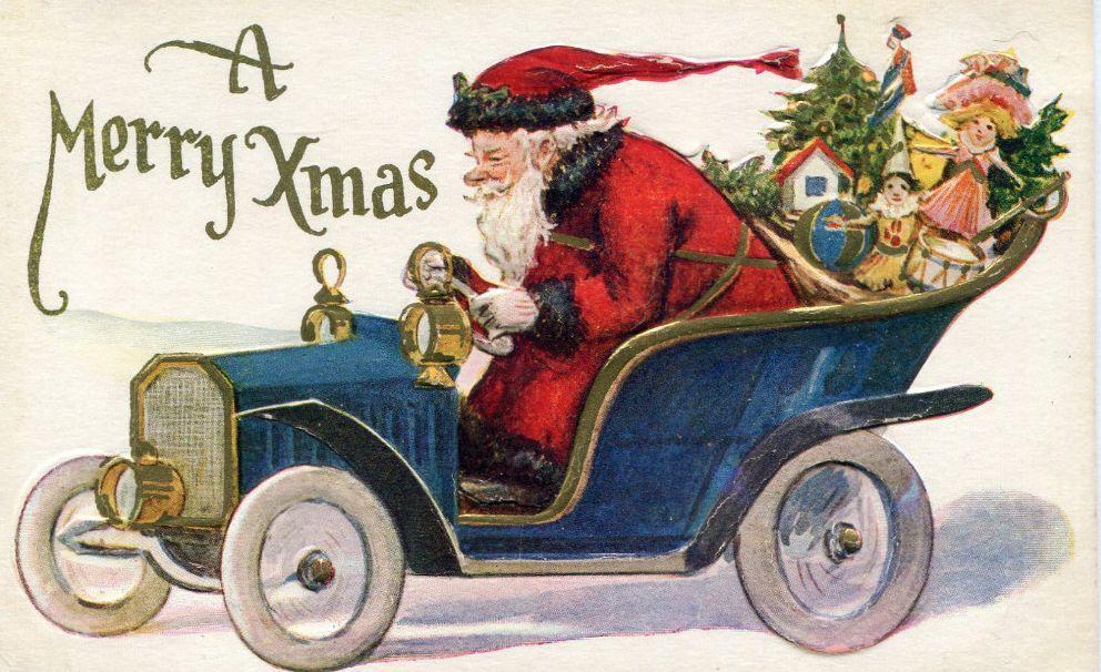 NOËL approche, et le Père Noël est en cours de chargement de sa hotte!