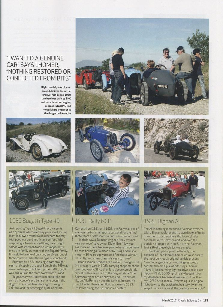TROPHÉE Jacques POTHERAT  et CLASSIC &amp&#x3B; SPORTS CAR The world's best selling classic car magazine EN TRADUCTION,