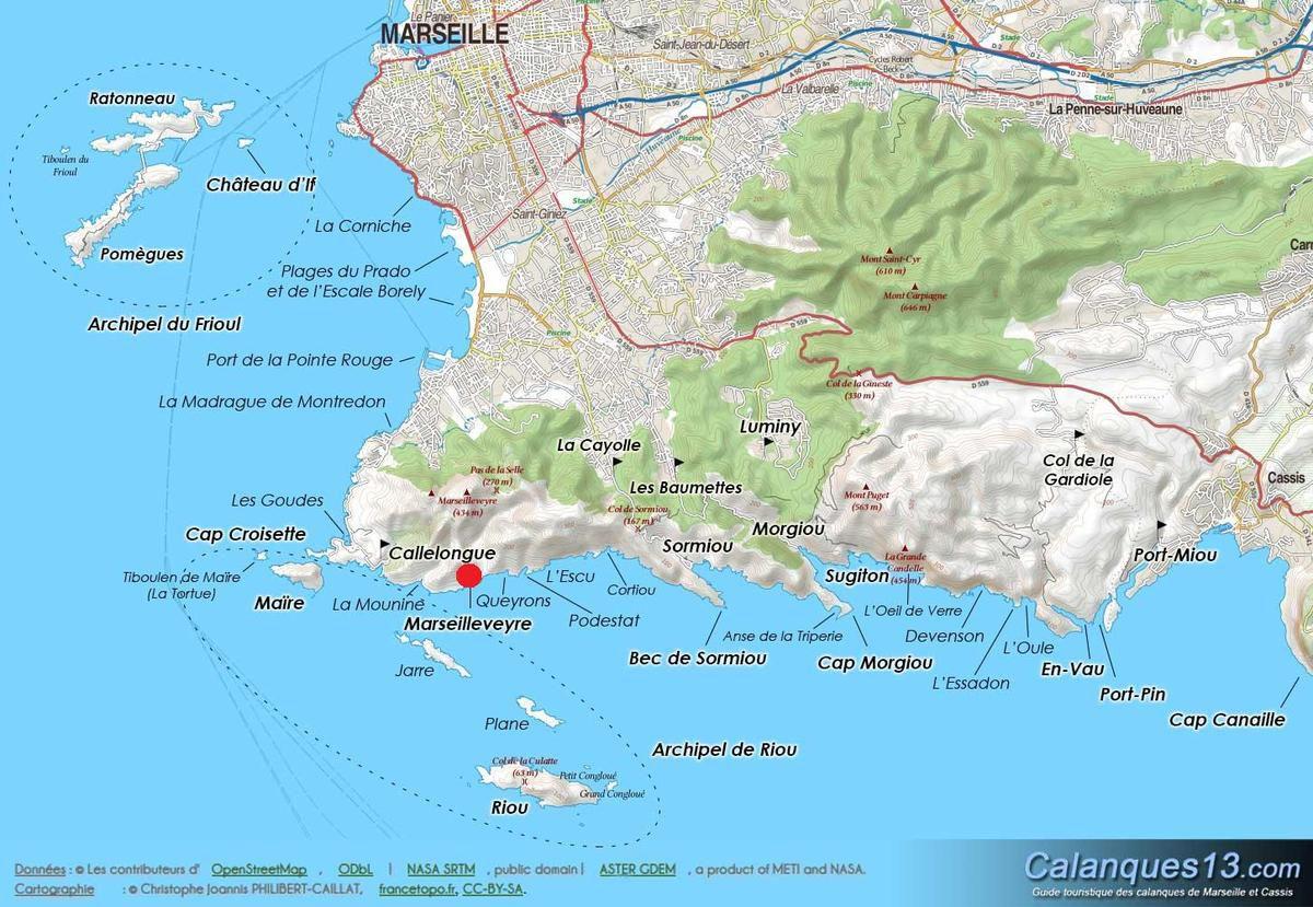 LES RENDEZ-VOUS DE LA REINE dans les calanques de Marseille