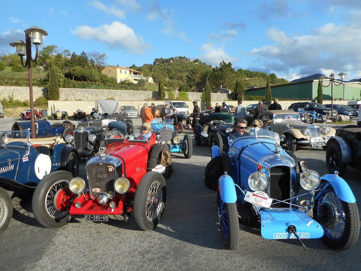 CONDORCET - Rallye CycleCars &amp&#x3B; Grand Sport - 15 &amp&#x3B; 16 AVRIL 2017 près de Nyons dans la Drôme(26)