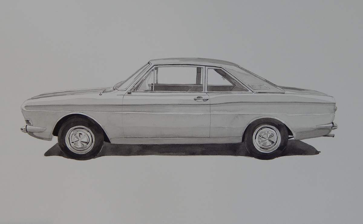 Gérard CREVON dimanche 20 AOÛT 2017 à la réunion mensuelle de voitures anciennes organisée par GAZOLINE
