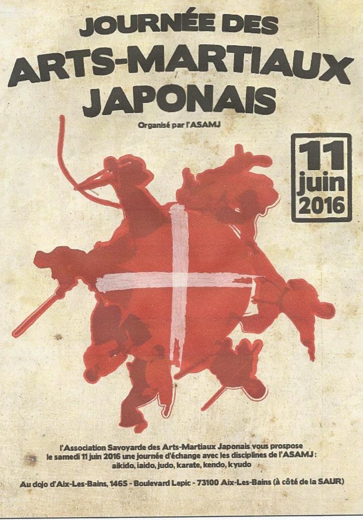 11 juin journée des arts martiaux japonais à Aix les bains