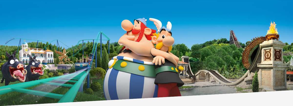 WEEK-END PARC ASTERIX LE 9 &amp&#x3B; 10 JUIN 2018
