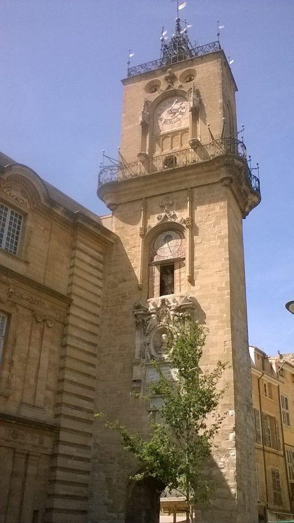 Balade à Aix en Provence ... Au mois d'août