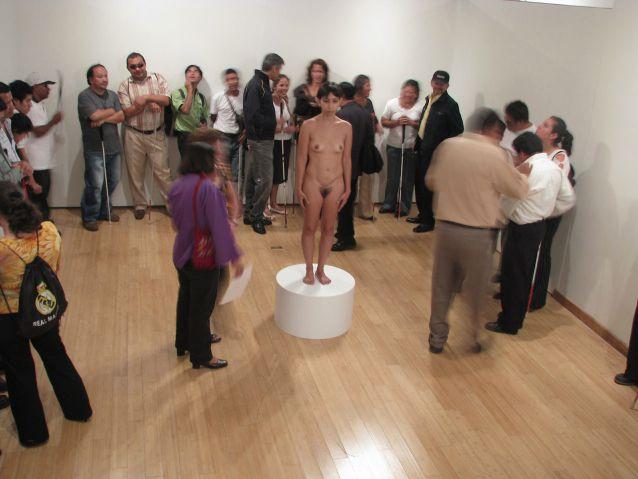 Blind Spot (Punto ciego) @ Regina José Galindo. 2010. NYC. Guggenheim