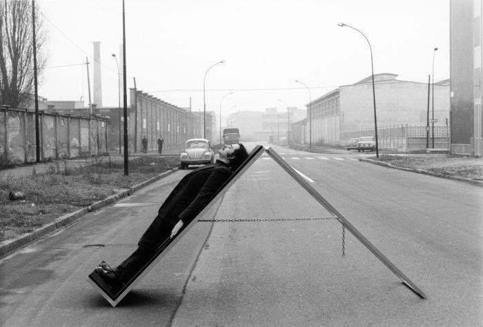 Commutatore @ Ugo La Pietra. 1970