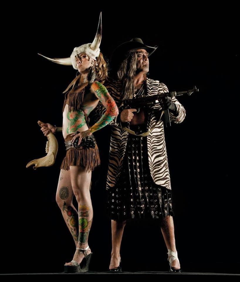 Naturel né Matones @ Guillermo Gomez-Pena & Sweet Cecily. 2015.  photo. RJ Muna