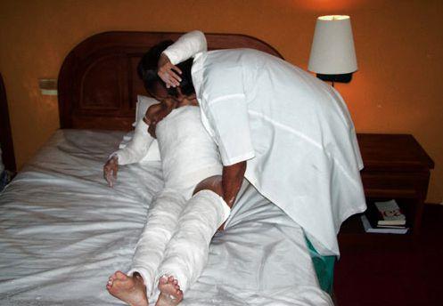 Yesoterapia @ Regina José Galindo. 2006. Saint Domingue