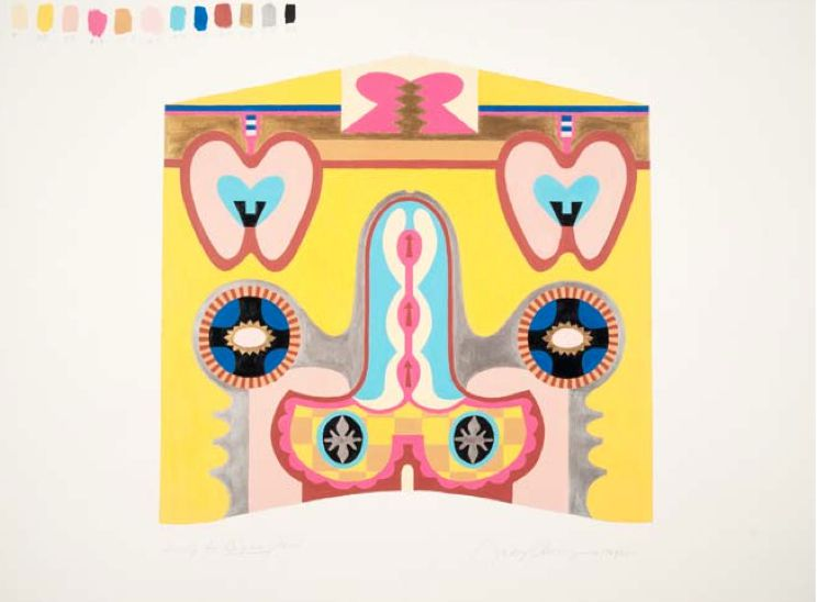 Study For Bigamy Hood @ Judy Chicago. 1965-2011