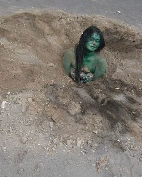 The Green Goddess @ Chuyia Chia. 2007. Yogyakarta. Indonesia