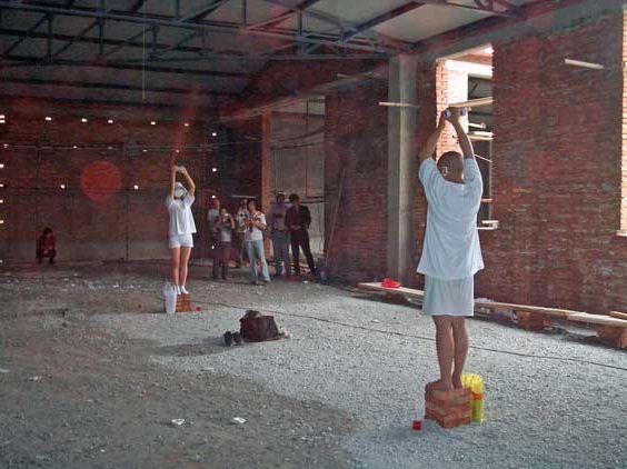 Untitled @ Mengyuan Li & Xishi Xiang. 2005. 3rd Dadao Live art Festival. Pékin. Chine