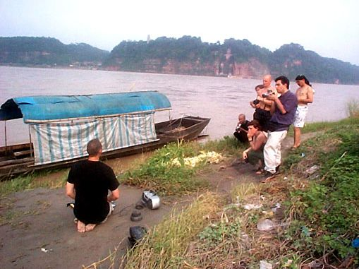 A venir @ Éric Letourneau. 2001. 2nd open fest. Sichuan. Chine