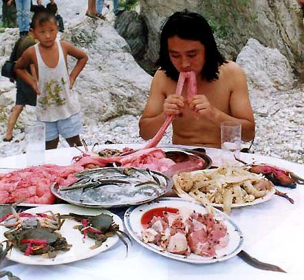 Supper to the Mankind @ Guang Chen. 2000. 1st open fest. Pékin
