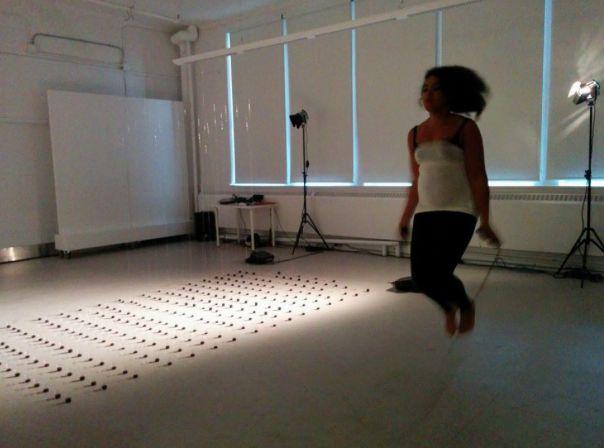 Le Depays @ Nathalie Mba Bikoro. 2014. Toronto. photo. Henry Chan