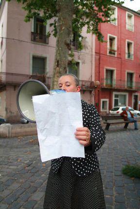 Irma Optimist. 2006. Infr'action Festival. photo. Stein Henningsen