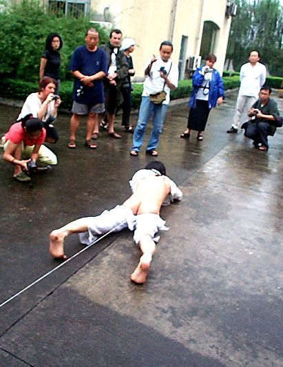 Want to Be a Stowaway @ Ji Yu. 2001. 2nd open fest. Sichuan. Chine