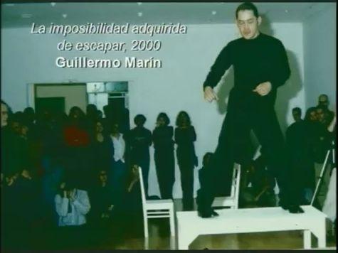 La imposibilidad adquirida de escapar @ Guillermo Marin 2000. Colombie