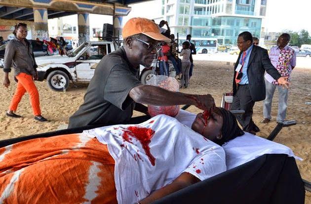 Violences, guerres et génocides @ Alougbine Dine. 2014. Biennale Dakar