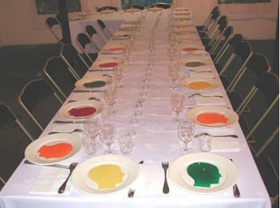 Performance Dinner For 9 Historic Hysteric Women and their guests @ Nicola L. 2006. Paris