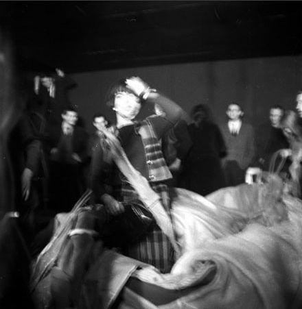 Happening La Lettre @ Tadeusz Kantor. 1967. Varsovie. photo. Eustache Kossakowski