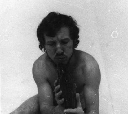 Dialog z ryba II @ Zbigniew Warpechowski. 1973. Lubelska Wiosna Teatralna. Lublin