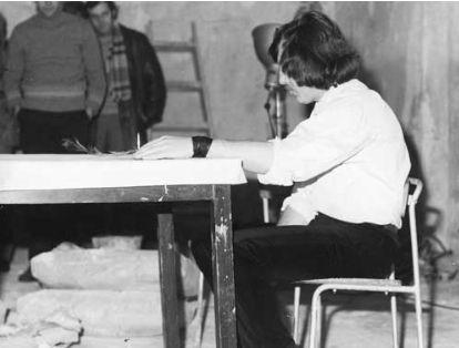 Gwozdz @ Zbigniew Warpechowski. 1980. Galeria Art Forum. Lodz