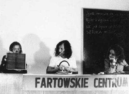 II, III, IV czytanie traktatu-fart @ Zbigniew Warpechowski. 1974. Gdansk