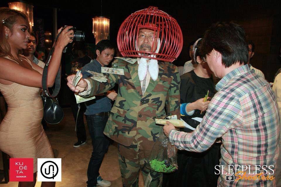 Performance @ Vasan Sitthiket &amp&#x3B; Sai Wannaphon. 2015. Bangkok