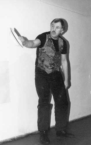 Talerz @ Zbigniew Warpechowski. 1994. Galeria On. Poznan