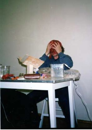 Krytyka Czystego Rozumu @ Zbigniew Warpechowski. 1993. Galeria Zderzak. Cracovie