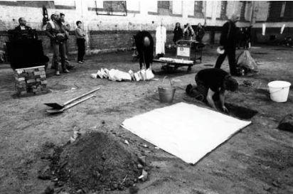 Empedokles @ Zbigniew Warpechowski. 1992. Alte Reithalle. Kassel