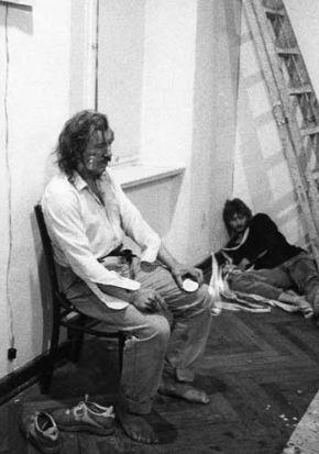 Dirty Water @ Zbigniew Warpechowski. 1990. Galeria Wschodnia. Lodz