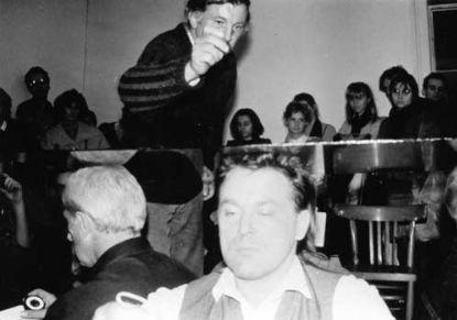 Stol @ Zbigniew Warpechowski. 1988. Galeria Wschodnia. Lodz
