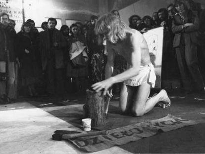 Dzierlo zycia @ Jerzy Beres. 1977. Galeria Teatru Stu. Cracovie