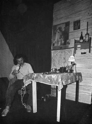 Azja @ Zbigniew Warpechowski. 1988. Cracovie. photo. M A Potocka