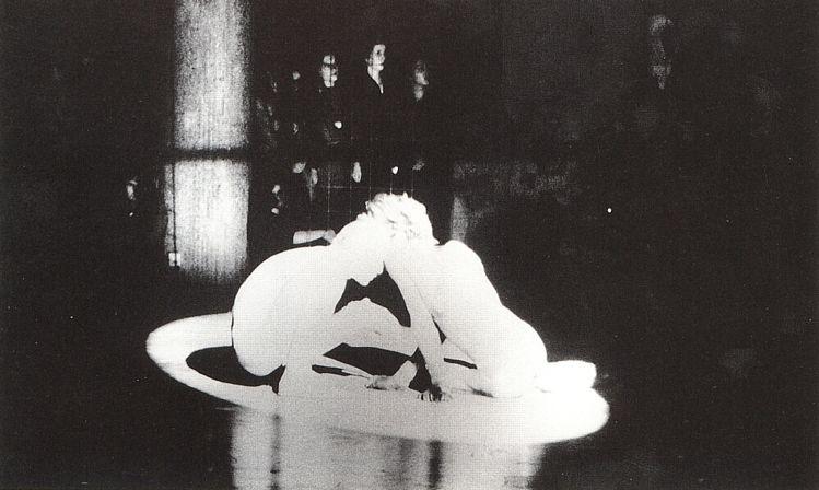 Big Birds @ Luciano Castelli. 1980. Berlin. Fashion show of Claudia Skoda