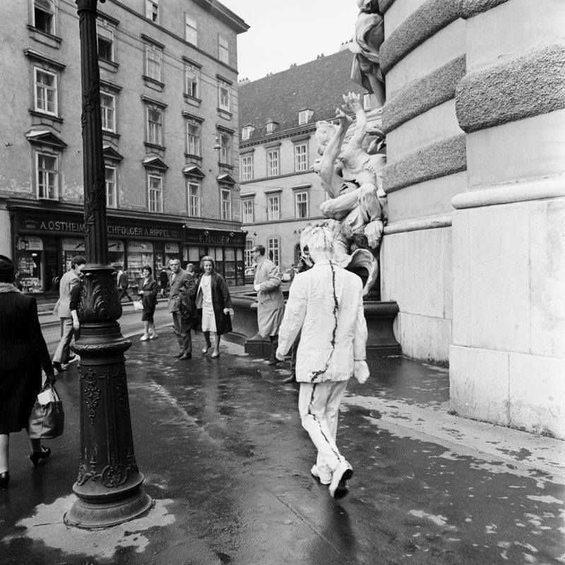 Wiener Spaziergang @ Gunther Brus. 1965