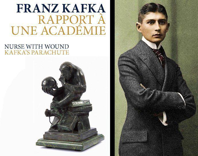 Franz Kafka &quot&#x3B; Rapport a une académie&quot&#x3B; : la métamorphose inversée