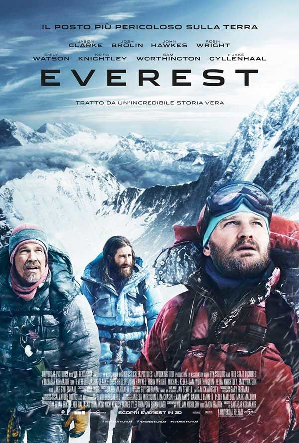 Everest - Film apertura Venezia 72