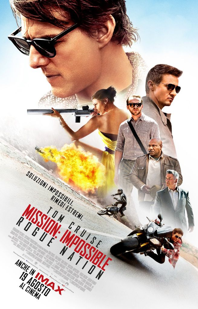 Mission: Impossible - Rogue Nation con Tom Cruise : le spettacolari riprese sull'aereo