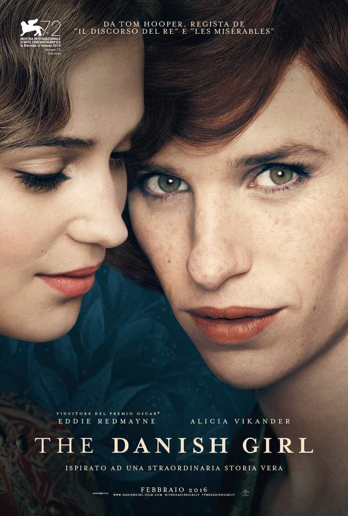 The Danish Girl - Manifesto Italiano