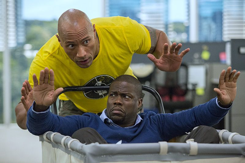 """Ecco la prima clip di Una spia e mezzo il nuovo film di Dwayne """"The Rock"""" Johnson"""