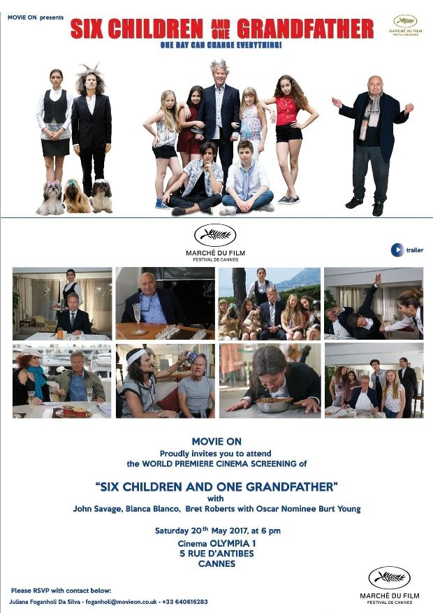 Six Children and ONE Grandfather approda al Festival di Cannes