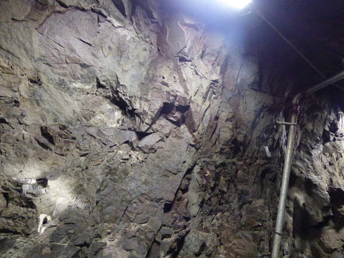 Dans la mine de fer de Kiruna
