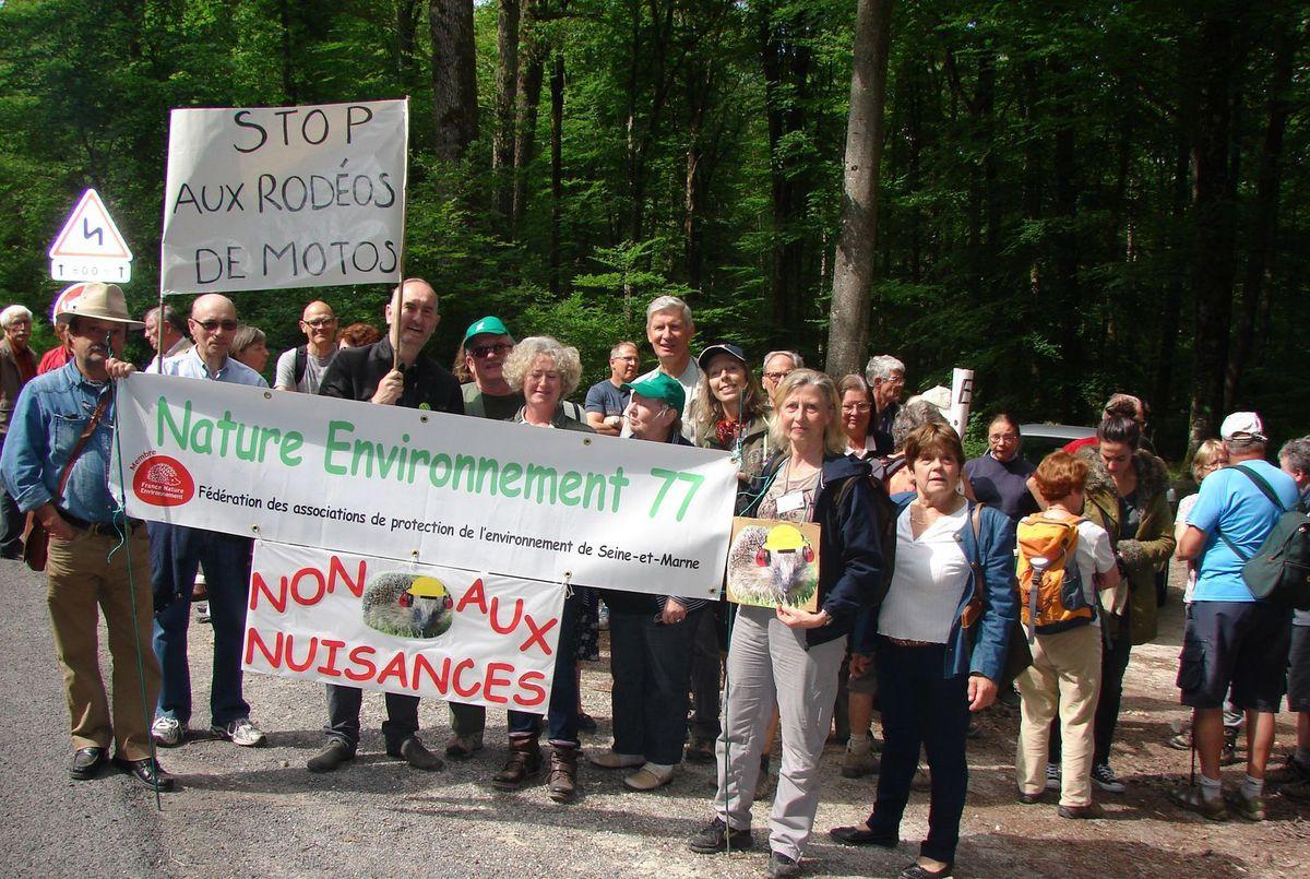 Forêt de Fontainebleau/Route de l'escargot : Stop aux nuisances !