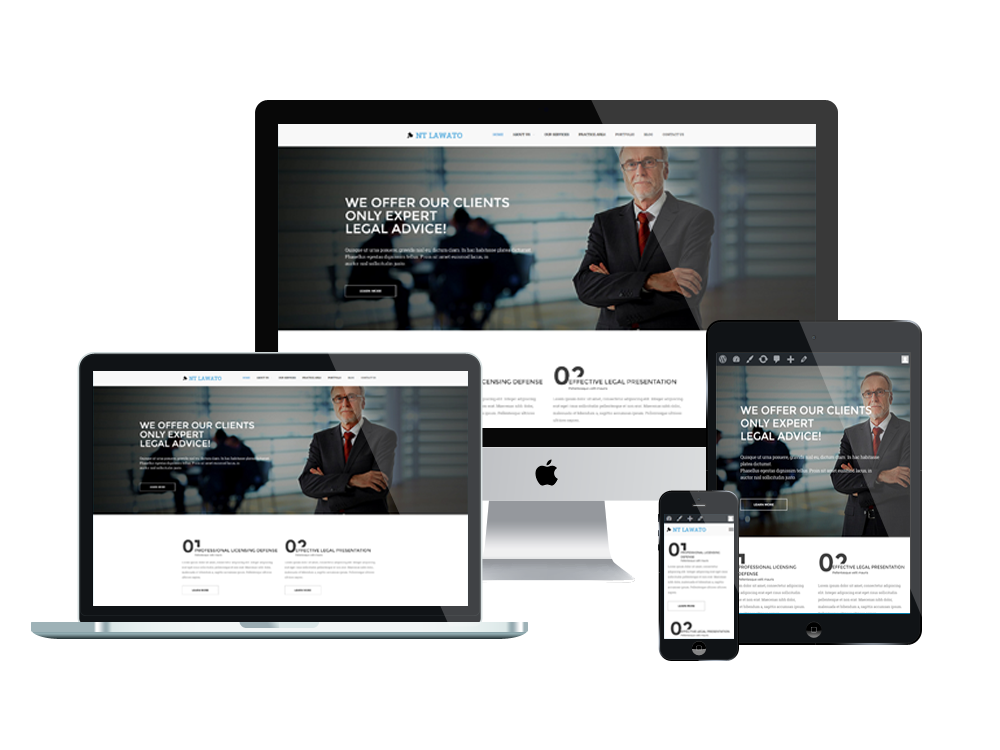 LAWATO PREMIUM Like LAW WORDPRESS THEME