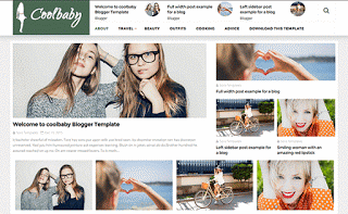 Elegant Blogger Responsive Template